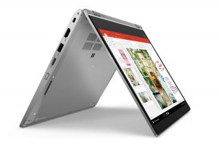 Lenovo ThinkPad L13 Yoga Convertible Laptop Silber