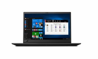 Lenovo ThinkPad P1 20MD0001GE, Vorderseite, Windows 10