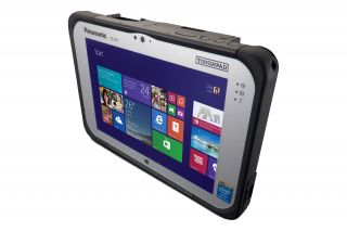 Panasonic Toughbook M1 mk3 - Full Rugged Tablet - Anschlüsse oben