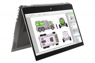 HP ZBook Studio x360 G5 6TW61EA Zeltmodus