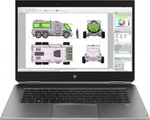 HP ZBook Studio x360 G5 6TW47EA Fronzansicht