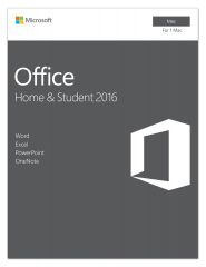 Microsoft Home and Student 2016 for Mac, Deutsch