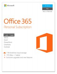 Micrososft Office 365 Personal, 1 User, alle Sprachen, all languages